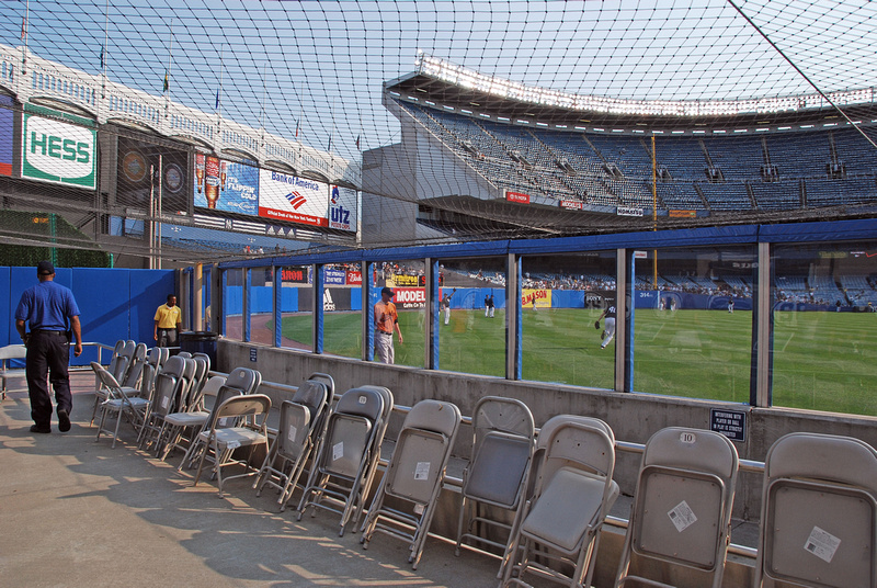 Perimeter Of Fence Of Old Yankee Stadium 62