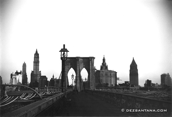 Brooklyn Bridge, 1955