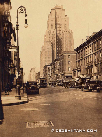 Lexington Avenue & 60th Street, 1917